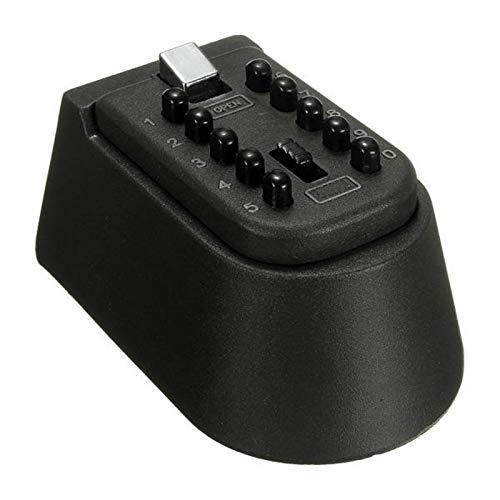 Safe Home - Caja de llaves con combinación de bloqueo de combinación segura y resistente a la intemperie para almacenamiento de joyas, tarjetas y llaves