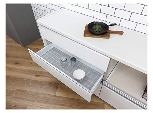東和産業食器棚シートグレー約35×360cmキッチンボードに敷くシート防虫消臭抗菌防カビ35