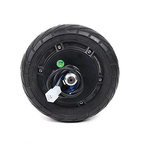 SHIOUCY Motor de cubo de rueda eléctrico para scooter de 24 V CC, 36 V y 48 V, motor sin escobillas