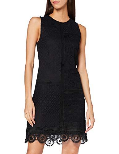 Desigual Vest_Madrid Vestido Casual, Negro, XXL para Mujer