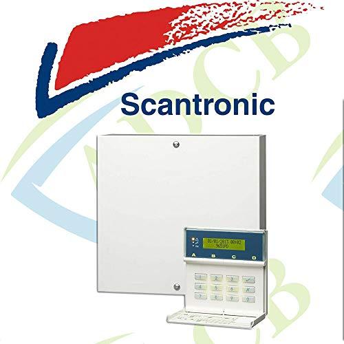Scantronic 9651EN41 Panel de alarma con teclado remoto 8 Zona para locales y pequeños locales comerciales