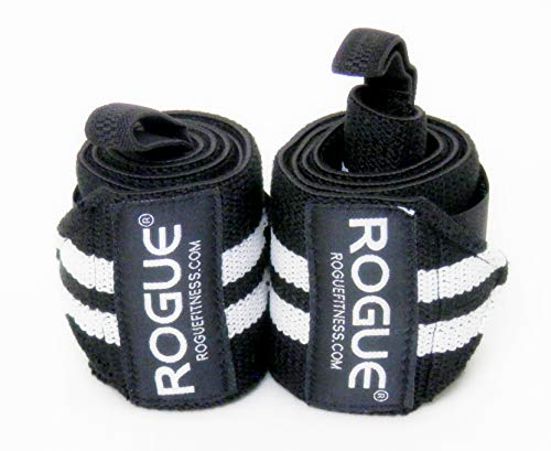 Rogue Fitness Wrist Wraps | Available in Multiple Colors (Black/White, 18')