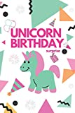 UNICORN BIRTHDAY SURPRISE: with more surprises inside, Birthday Gift for Girls unicorn backpack for girls, unicorn party favors, unicorn balloons..!