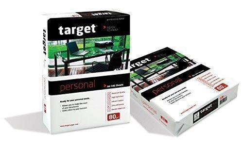 Target Personal Kopierpapier 80g/m² DIN-A4 2.500 Blatt Druckerpapier weiß