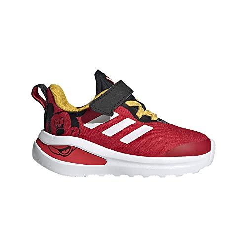 adidas Fortarun Mickey I, Zapatillas de Running Unisex bebé, NEGBÁS/FTWBLA/Rojint, 19 EU