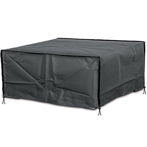 Deluxe Schutzhülle für Rattan- Garten-Lounge-Set 200x160cm, Polyester 420D • Gartenmöbel Schutz Hülle Abdeckung Tragetasche Plane