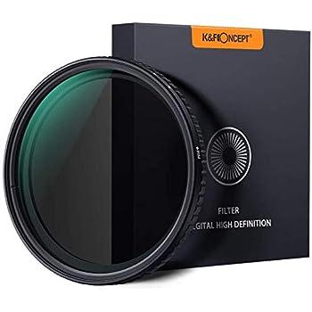 K&F Concept ND Filter 52mm Objektiv Filter Nano Slim Neutral Dichte Graufilter 52mm Variable ND Filter ND8~ND128