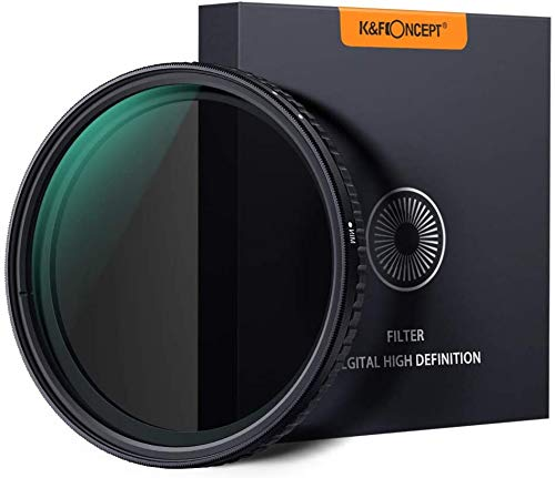 K&F Concept ND Filter 52mm Objektiv Filter Nano Slim Neutral Dichte Graufilter 52mm Variable ND Filter ND8~ND128