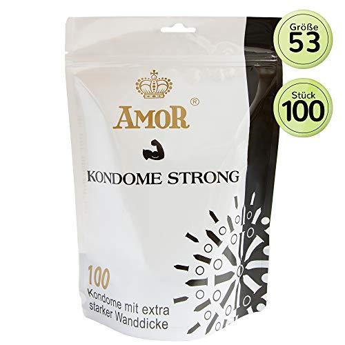 Amor Strong Condones Anal - 100 Unidades