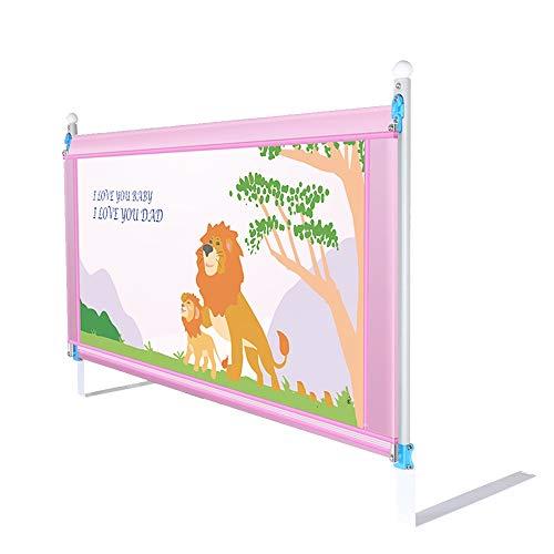 Bed rails HUO poręcz do łóżka dziecięcego pionowe podnoszenie cienkie grube łóżko barierki ochronne dla niemowląt - 1,5 m, 1,8 m, 2,0 m (kolor: B2,0 M)