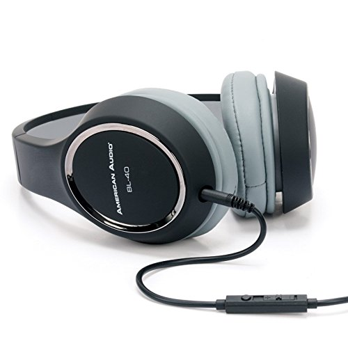 Great Features Of ADJ Products DJ Headphones, Black, One Size (BL-40)