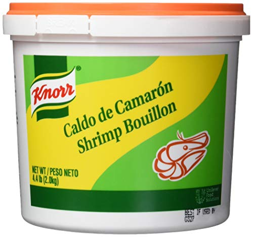 Knorr Professional Caldo de Camaron Shrimp Bouillon Base Shelf Stable Convenience, 0g Trans Fat, 4.4 lbs