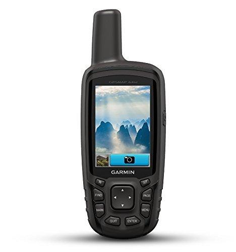 Garmin GPSMAP 64SC, Rugged Handheld with GPS/GLONASS, Wireless Connectivity and Digital Camera (Renewed)