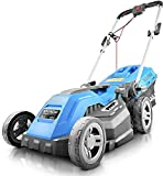 Hyundai HYM3800E Electric Lawnmower with Roller & Mulching Included, 38cm Cut Width, 1600