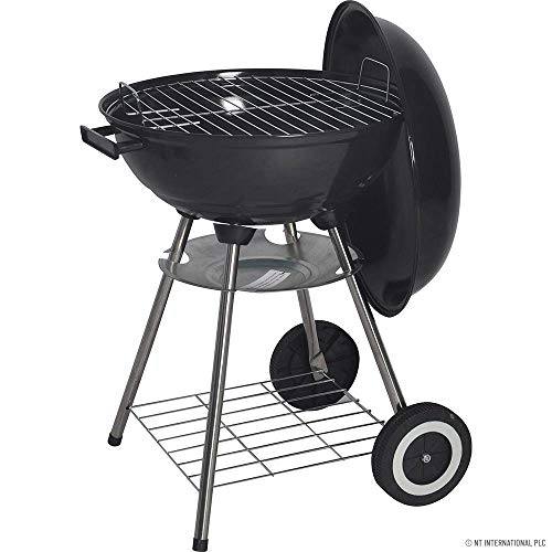 KETTLE BARBECUE BBQ GRILL OUTDOOR CHARCOAL PATIO COOKING PORTABLE ROUND PICNIC