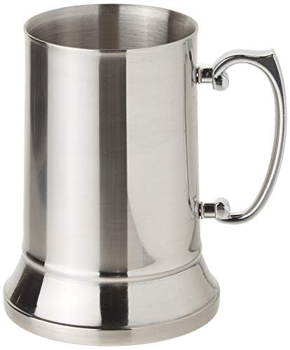 Maxam Stainless Steel 20oz Beer Mug