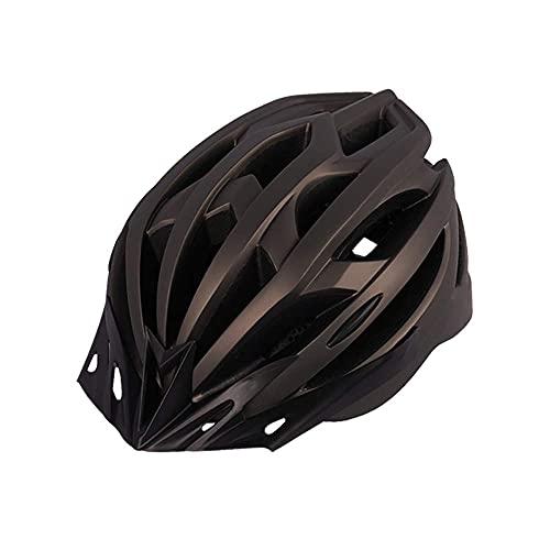 Pkfinrd Casco Ligero del Ciclo de la Bicicleta del Casco con la luz Trasera con la luz Trasera Adecuado para la conducción en Bicicleta Seguridad para Las Mujeres para Hombre (Color : Silver)