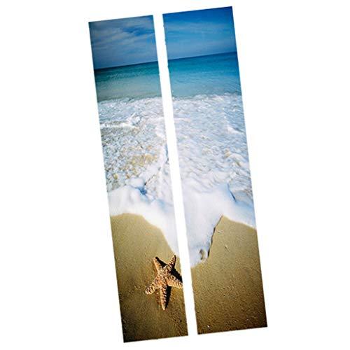 Türtapete selbstklebend 3D Türposter Fototapete Fototapete Türfolie Türdekofolie 77 x 200 cm - B