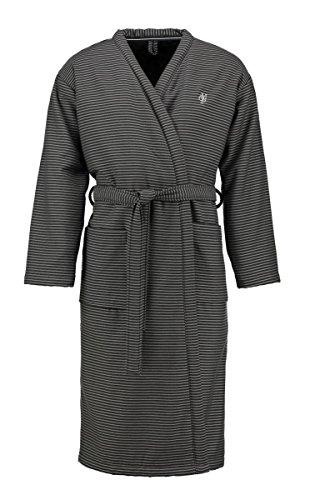 Marc O'Polo Bademantel Unisex Kimono Jaik Anthracite S