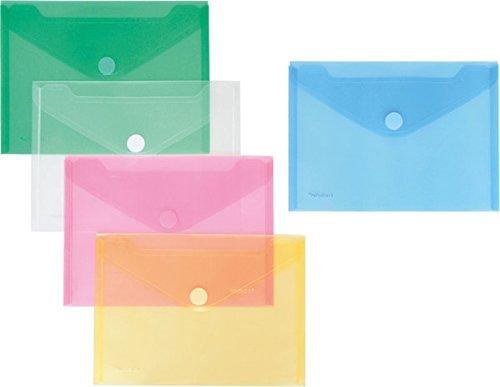 FolderSys PP-Umschlag 10er Set (A5, Mehrfarbig, 10 Umschläge)