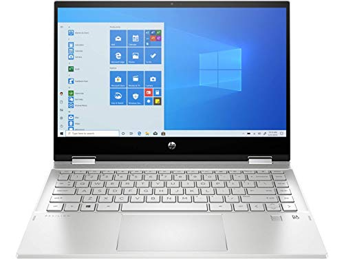 "HP Pavilion x360 Convertible 14-dw1017ns – Ordenador portátil FullHD de 14"" (Procesador Intel Core i5-1135G, 8GB RAM, 512GB SSD, Intel Iris XE Graphics, Windows 10) Plata – Teclado QWERTY ES"