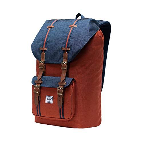 Herschel Little America Mid Volume Unisex Erwachsene Tasche, Little America, Herschel Little America Backpack, Rot, Herschel Little America Backpack
