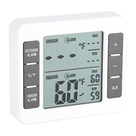 huiouer Refrigerator Freezer Thermometer Fridge Refrigeration Temperature Gauge Home Use