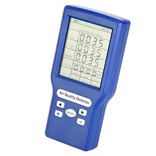 Tomanbery Detección Inteligente Detector de dióxido de Carbono Detector de Gas Detección de Flujo de Aire Natural para el hogar