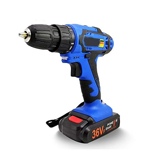 XINXI-MAO Home Hand Tools Rechargeable Multi-Function Lithium Drill, Electric Screwdriver Industrial Power Tool Robust Tool