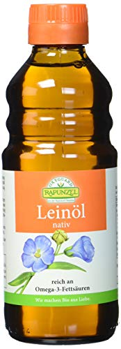 Rapunzel Leinöl nativ, 1er Pack (1 x 250 ml) - Bio