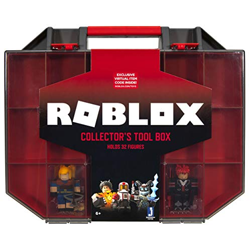 Roblox Action Collection - Collector's Tool Box and Carry Case that Holds 32 Figures [Includes...