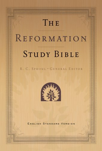 Compare Textbook Prices for Holy Bible English Standard Version Reformation Study Bible - Burgundy, Genuine Leather, with Maps 2nd Edition with Maps Edition ISBN 9781596381384 by Published by Ligonier Ministries,General Editor: R. C. Sproul