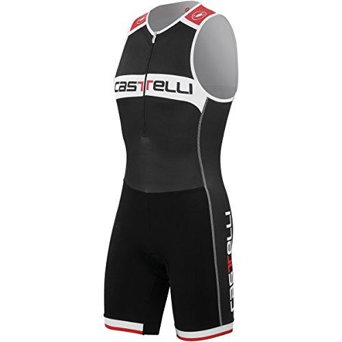 Castelli Core - Mono de triatlón sin mangas, color negro y blanco negro negro Talla:XXL