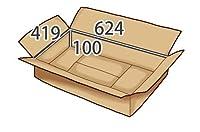 In The Box 衣類用ダンボール624×419×高さ100mm【10枚】[JA-#7]