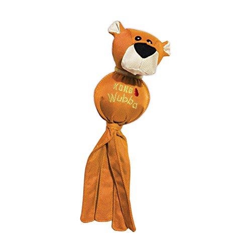 KONG – Wubba Friends Ballistic – Zerrspielzeug aus Nylon (Verschiedene Figuren) – Für Große Hunde