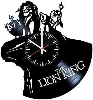 Best lion king vinyl clock Reviews
