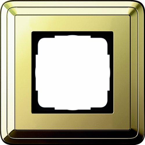 Gira 0211631 Abdeckrahmen 1 Fach Classix Messing