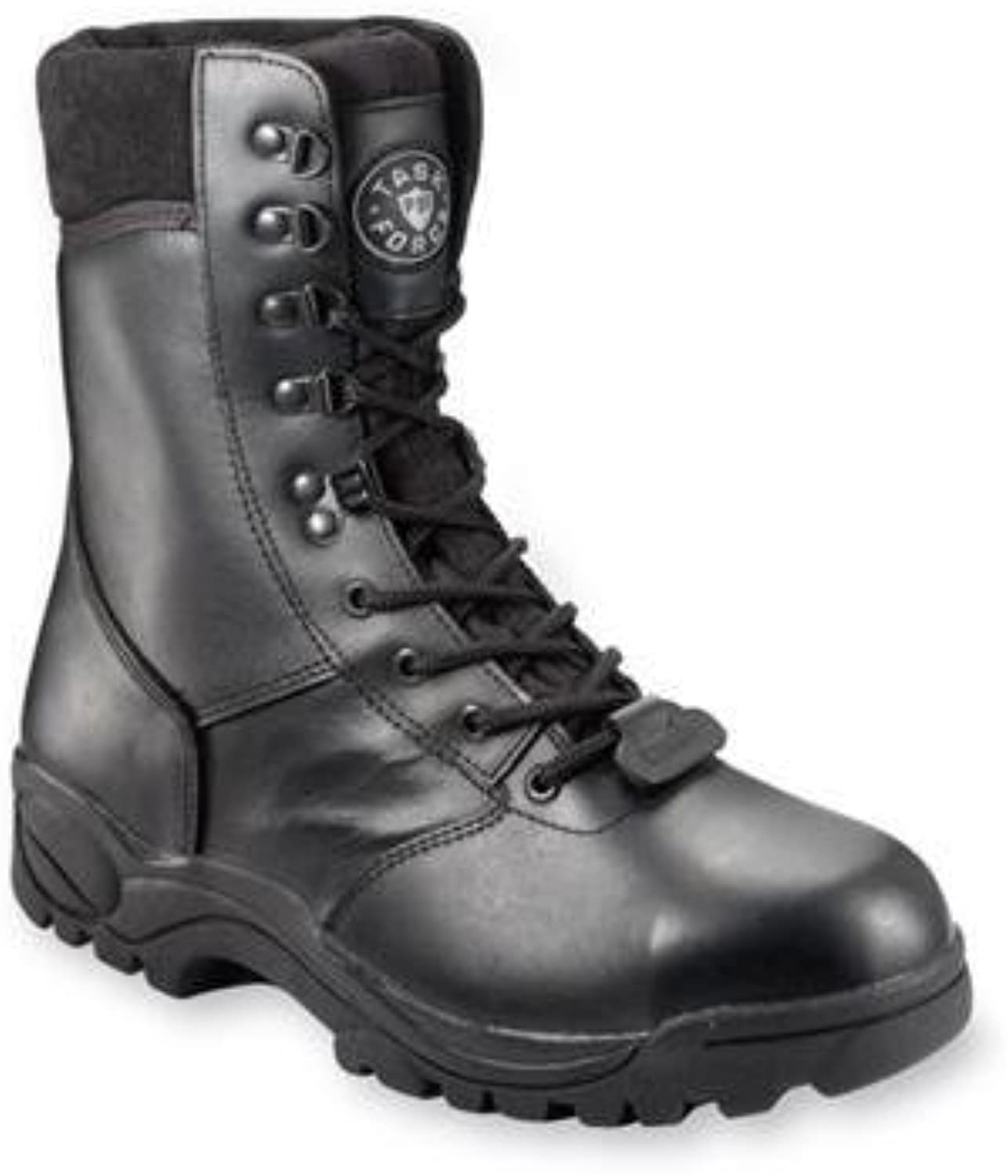 Task Force Black High Leg Safety Boots - Size 9