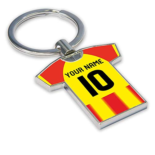 Personalised Partick Thistle Football Soccer T-Shirt Key Ring