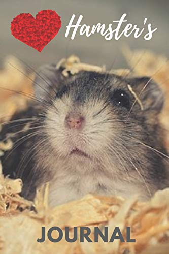 Hamster Journal: cute hamsters gift for animal and small pet lovers (blank lined journal) best for writing notes and ideas for home use or as a school ... children / adorable hamster notebook for kids