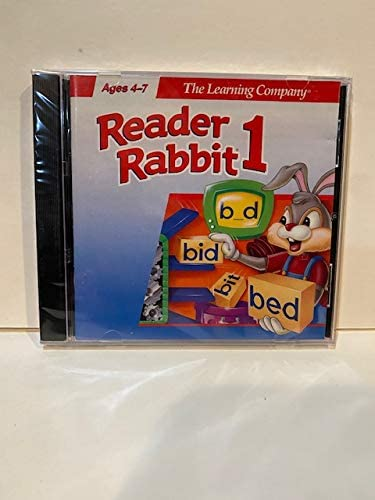 Reader Rabbit 1 - 5 Lab for Mac User It is New color very popular Pack