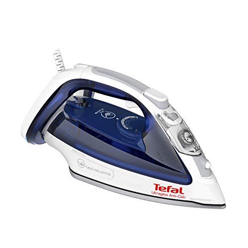 Tefal Ultragliss FV4997 2600 - Plancha de vapor, color azul