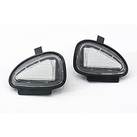2x Top Led Xenon Umfeldbeleuchtung Aussenspiegel Leuchte Weiß 7411 Auto