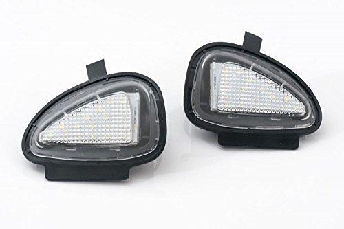 Helle LED Umfeldbeleuchtung für Außenspiegel Set Links+Rechts Eintragungsfrei
