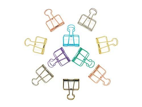 toymy Toy 8/pezzi Foglietti Clips Graffette carta KLAMMER scava forma per ufficio casa scuola cucina uso domestico Multicolor