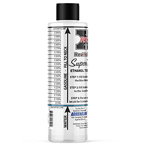 REV X E85 Super Tester Reusable Ethanol Testing Kit - 5 oz.