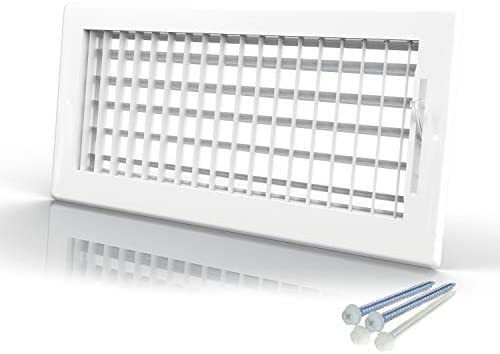 Engera Adjustable Double Deflection HVAC Air Register Supply AIR Diffuser Air Vent Register product image