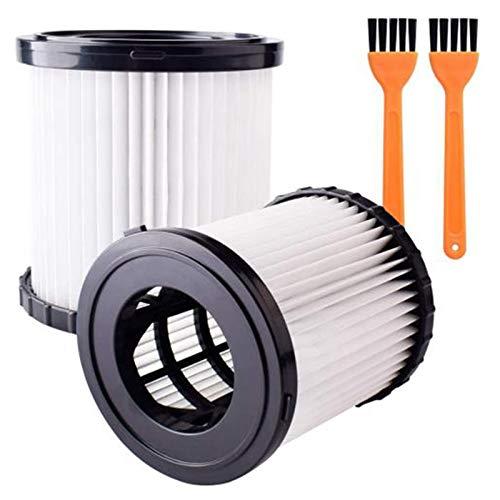 Baalaa 2 paquetes de filtros de vacío Hepa filtro de repuesto compatible para DCV580 y DCV581H aspiradora en seco húmedo