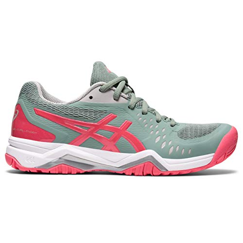 ASICS Gel-Challenger 12, Zapatos de Tenis Mujer, Slate Grey Pink Cameo, 41.5...