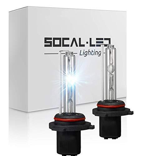 O-NEX 2x XENON H1 HID Bulbs AC 35W Headlight Replacement High Bright 8000K Ice Blue